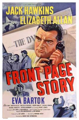 Front Page Story - 11 x 17 Movie Poster - UK Style A