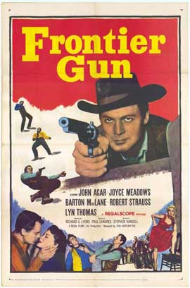 Frontier Gun - 11 x 17 Movie Poster - Style A