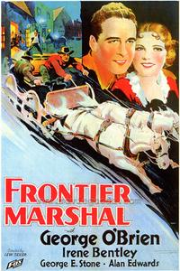 Frontier Marshal - 43 x 62 Movie Poster - Bus Shelter Style A