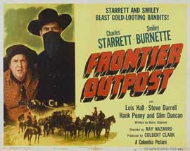 Frontier Outpost - 22 x 28 Movie Poster - Half Sheet Style A
