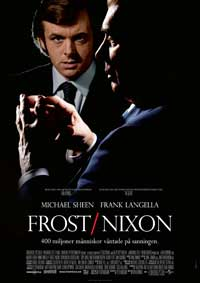 Frost/Nixon - 27 x 40 Movie Poster - Swedish Style A