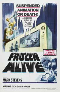 Frozen Alive - 11 x 17 Movie Poster - Style A