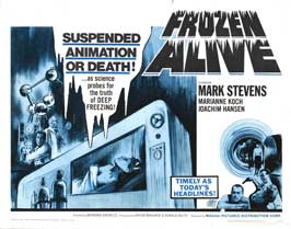 Frozen Alive - 22 x 28 Movie Poster - Half Sheet Style A