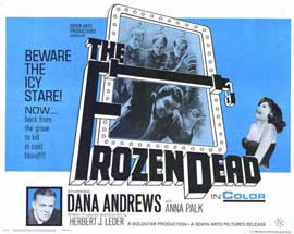 The Frozen Dead - 11 x 14 Movie Poster - Style A