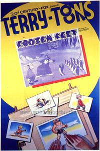 Frozen Feet - 43 x 62 Movie Poster - Bus Shelter Style A
