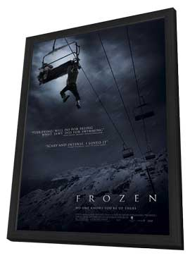 Frozen - 11 x 17 Movie Poster - Style A - in Deluxe Wood Frame