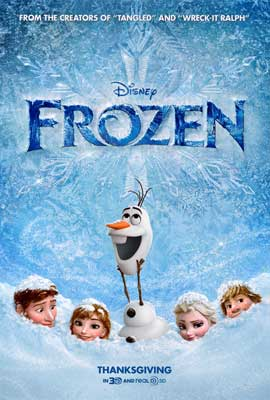 Frozen - DS 1 Sheet Movie Poster - Style B