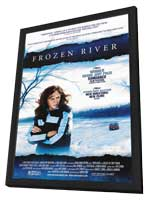 Frozen River - 27 x 40 Movie Poster - Style A - in Deluxe Wood Frame