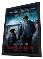 Fruitvale Station - 11 x 17 Movie Poster - Style B - in Deluxe Wood Frame
