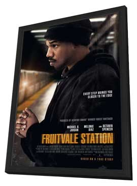 Fruitvale Station - 11 x 17 Movie Poster - Style A - in Deluxe Wood Frame