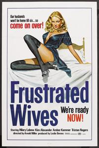 Frustrated Wives - 43 x 62 Movie Poster - Bus Shelter Style A