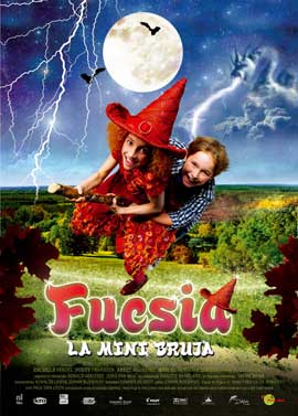Fuchsia the Mini-Witch - 11 x 17 Movie Poster - Spanish Style A