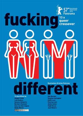 Fucking Different - 11 x 17 Movie Poster - German Style B