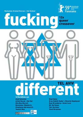 Fucking Different Tel Aviv - 27 x 40 Movie Poster - French Style A