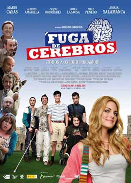 Fuga de Cerebros - 11 x 17 Movie Poster - Spanish Style A