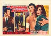 Fuga desesperada - 11 x 17 Movie Poster - Belgian Style A
