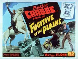 Fugitive of the Plains - 11 x 14 Movie Poster - Style A