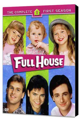 Full House (TV) - 11 x 17 TV Poster - Style A - Museum Wrapped Canvas