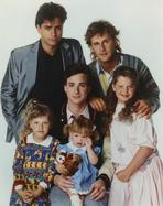 Full House (TV) - Full House Cast Portrait with White Background