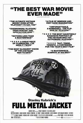 Full Metal Jacket - 11 x 17 Movie Poster - Style B