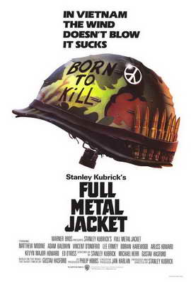 Full Metal Jacket - 27 x 40 Movie Poster - Style A