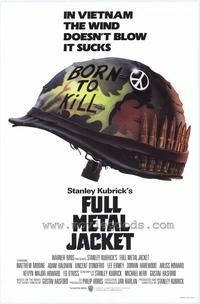 Full Metal Jacket - 43 x 62 Movie Poster - Bus Shelter Style A