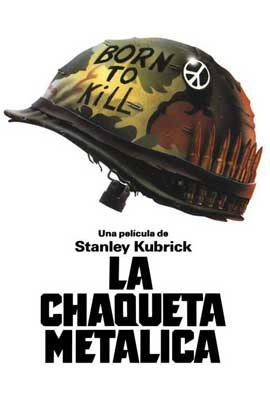 Full Metal Jacket - 11 x 17 Movie Poster - Spanish Style B