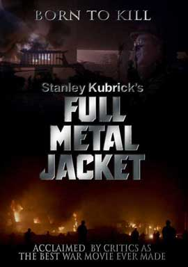 Full Metal Jacket - 11 x 17 Movie Poster - Style F