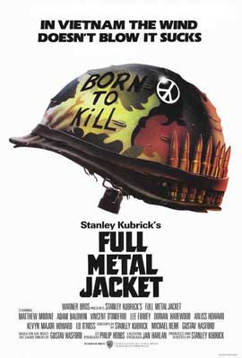 Full Metal Jacket - 11 x 17 Movie Poster - Style J