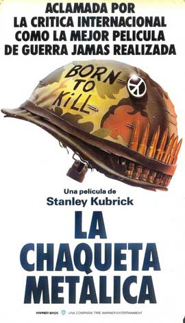 Full Metal Jacket - 11 x 17 Movie Poster - Spanish Style C
