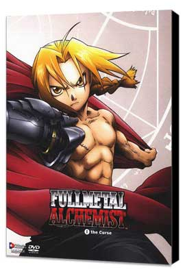 Fullmetal Alchemist (TV) - 11 x 17 TV Poster - Style I - Museum Wrapped Canvas