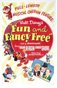 Fun & Fancy Free - 27 x 40 Movie Poster - Style B