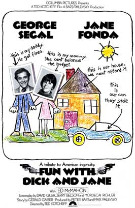 Fun with Dick and Jane - 11 x 17 Movie Poster - Style A