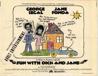 Fun with Dick and Jane - 11 x 14 Movie Poster - Style A
