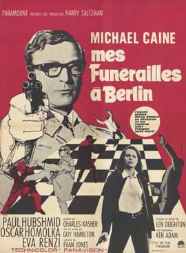 Funeral in Berlin - 11 x 17 Movie Poster - French Style A