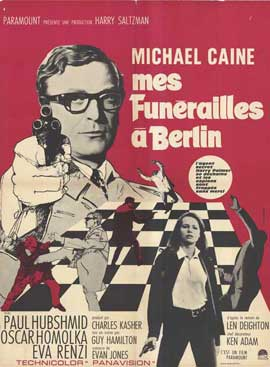 Funeral in Berlin - 27 x 40 Movie Poster - French Style A