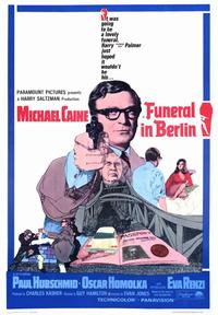 Funeral in Berlin - 43 x 62 Movie Poster - Bus Shelter Style A