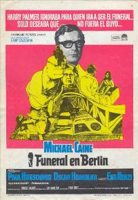 Funeral in Berlin - 11 x 17 Movie Poster - Spanish Style A