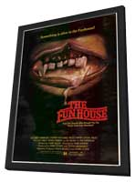 The Funhouse - 11 x 17 Movie Poster - Style A - in Deluxe Wood Frame