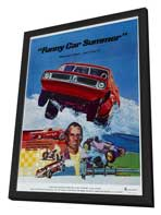 Funny Car Summer - 11 x 17 Movie Poster - Style A - in Deluxe Wood Frame