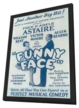 Funny Face (Broadway) - 11 x 17 Poster - Style A - in Deluxe Wood Frame