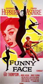 Funny Face - 11 x 17 Movie Poster - Style B