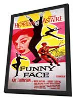 Funny Face - 11 x 17 Movie Poster - Style B - in Deluxe Wood Frame