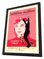 Funny Face - 27 x 40 Movie Poster - Style A - in Deluxe Wood Frame