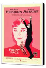 Funny Face - 27 x 40 Movie Poster - Style A - Museum Wrapped Canvas