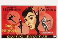 Funny Face - 27 x 40 Movie Poster - Belgian Style A