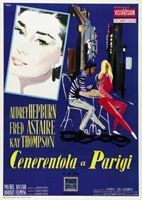 Funny Face - 11 x 17 Movie Poster - Italian Style B
