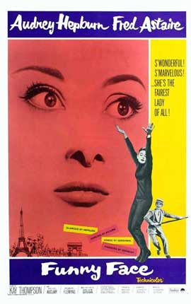 Funny Face - 27 x 40 Movie Poster - Style B