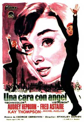 Funny Face - 11 x 17 Movie Poster - Spanish Style A