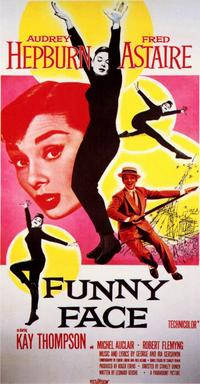 Funny Face - 11 x 17 Movie Poster - Style B - Museum Wrapped Canvas